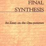 Kant's Final Synthesis